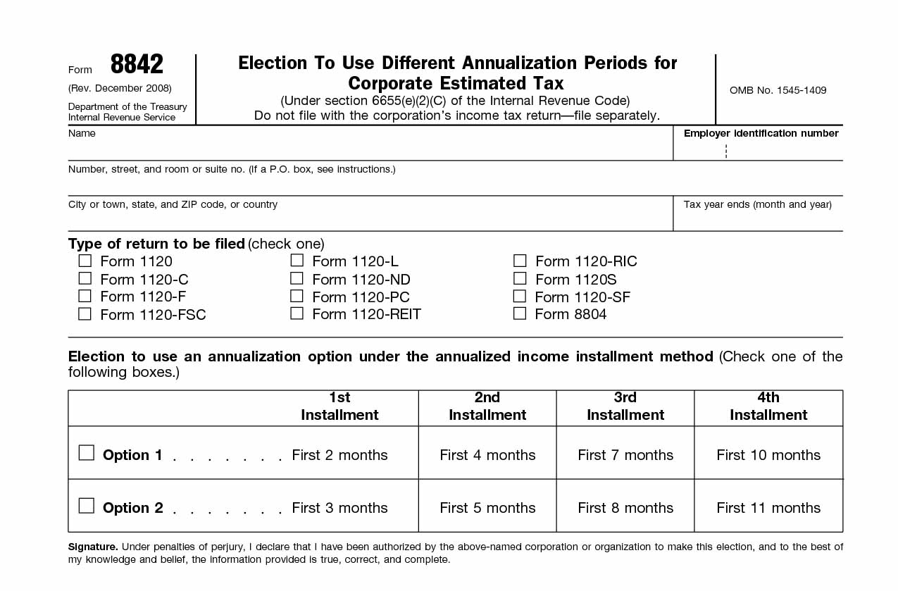 Irs Form Archives