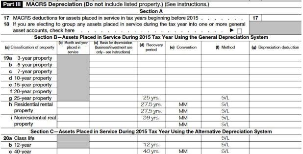 irs depreciation table – Irs Depreciation Worksheet