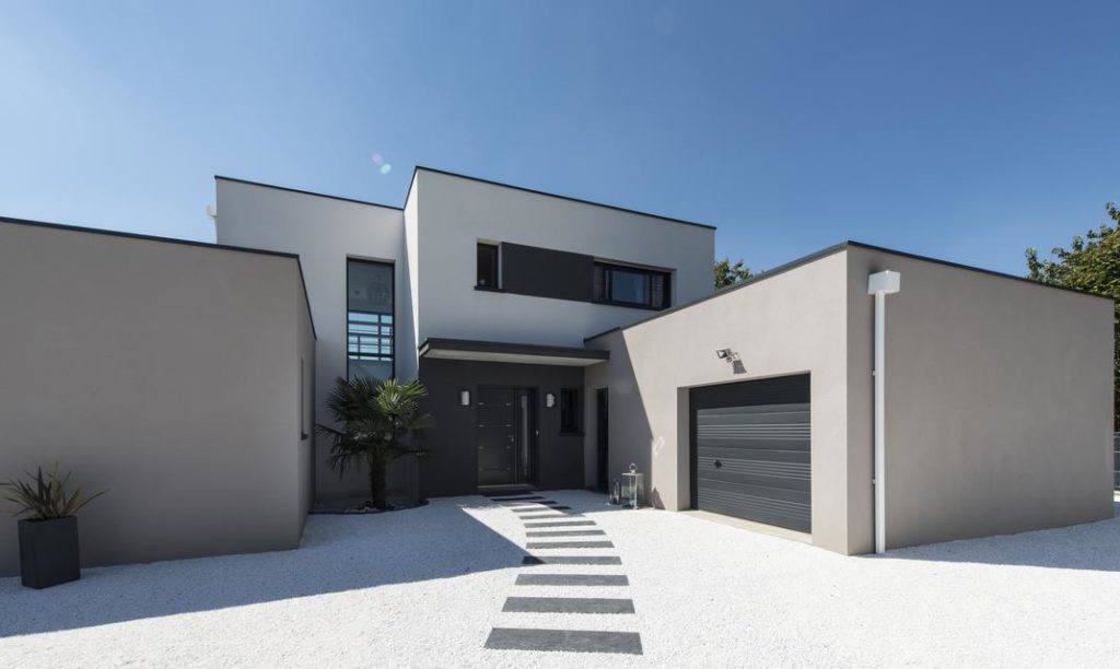 un porche d entree moderne design