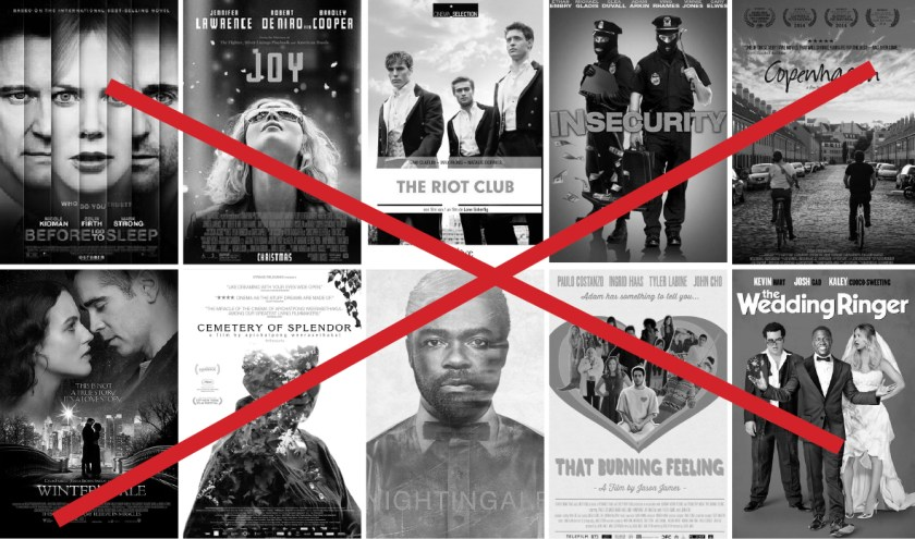slechtste films van 2016