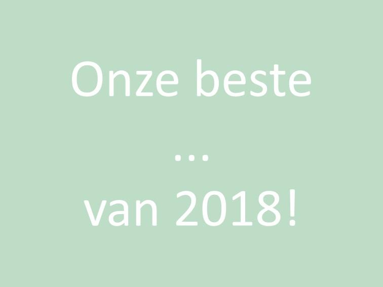 beste van 2018