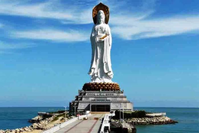 Guan Yin of the South Sea of Sanya, China