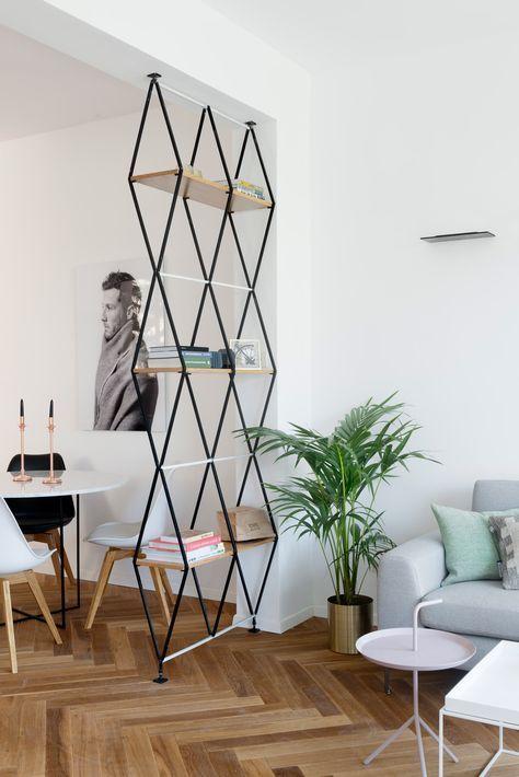 10 sencillos separadores de ambientes que puedes copiar en tu casa