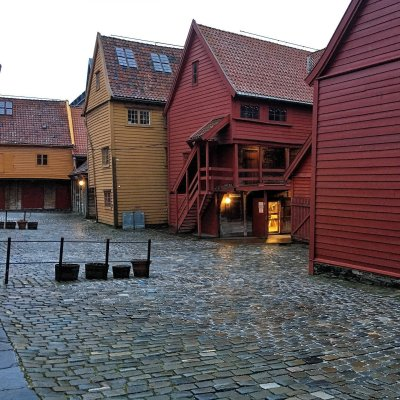 Trasera de Bryggen