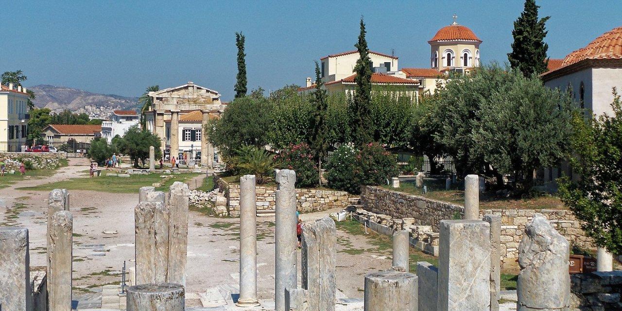 En el Ágora Romana