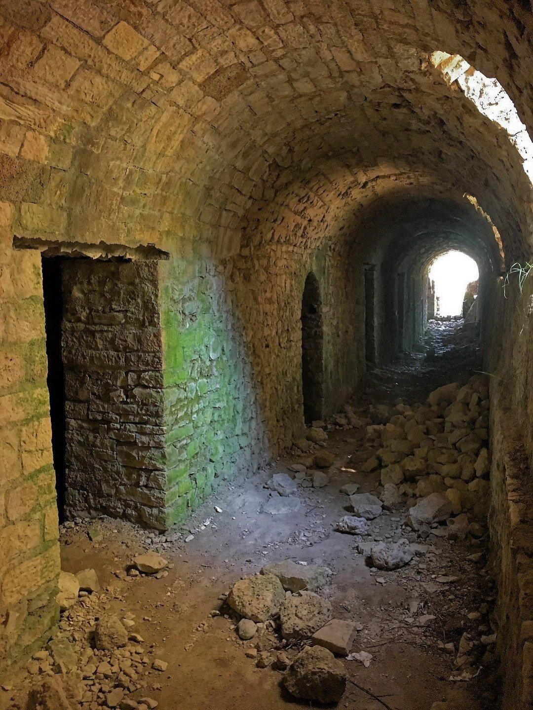 Galerías del castillo