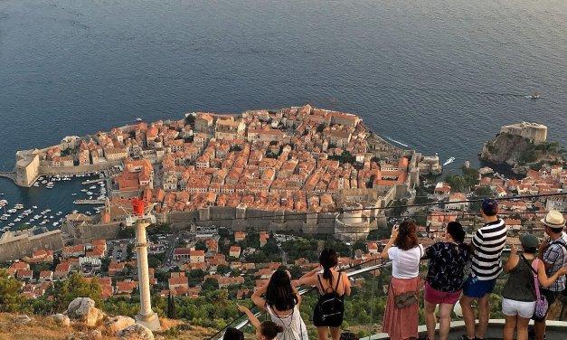 Dubrovnik desde el monte Srđ