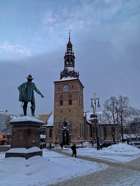 Stortorvet y catedral de Oslo