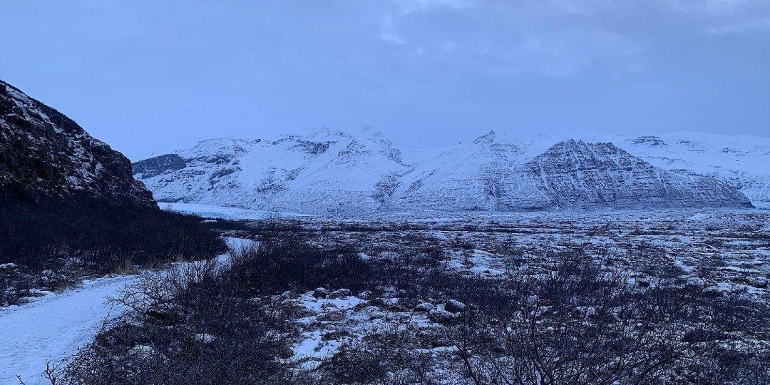 Camino a Skaftafellsjökull