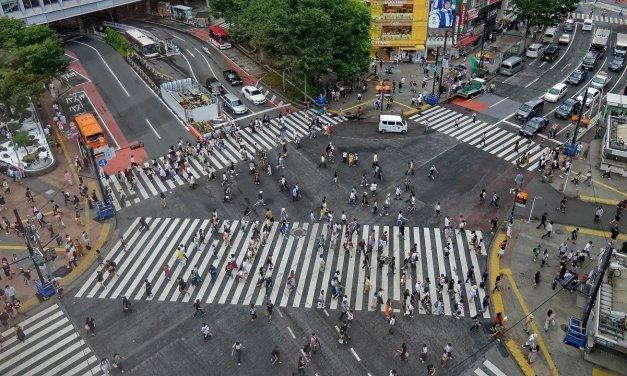 El cruce de Shibuya