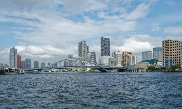 Por el río Sumida, entre Asakusa y Odaiba