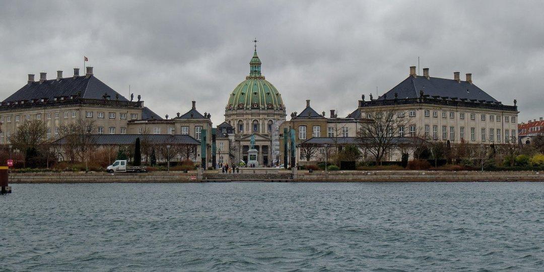 Amalienborg y Marmorkirken