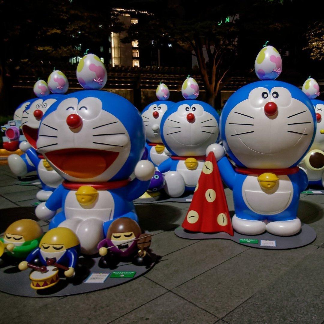 Doraemon en Roppongi Hills