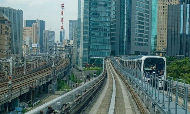 En la línea Yurikamome