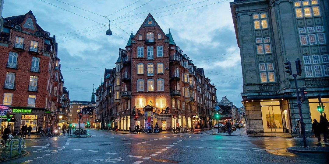 Intersección entre Møntergade y Christian IX's Gade