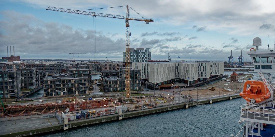 Nordhavnen desde el Crown Seaways