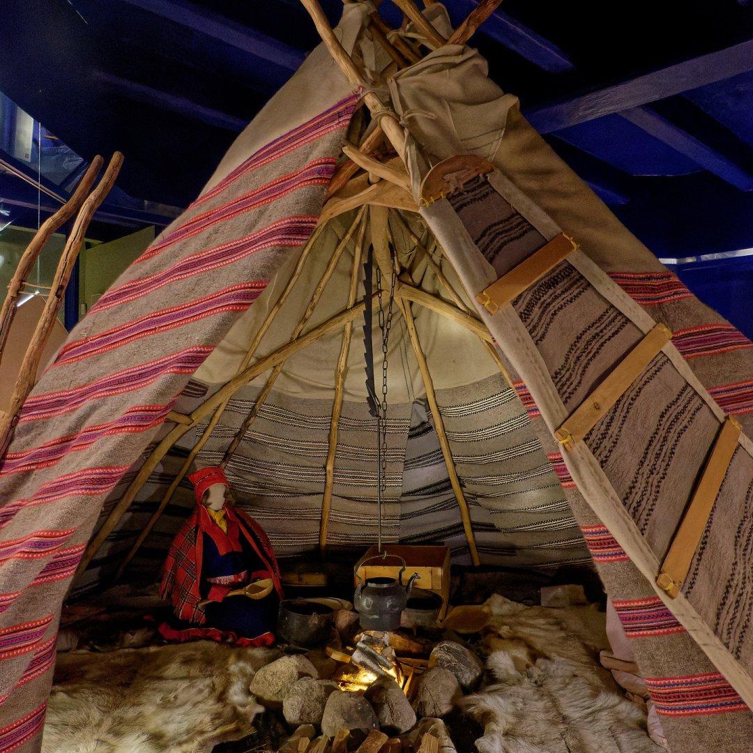 Tienda tradicional sami