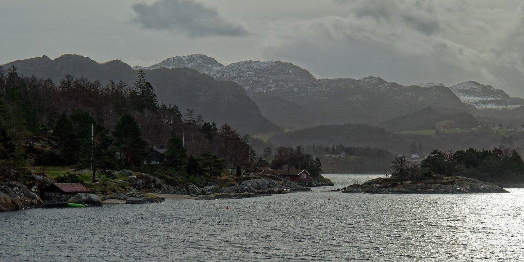 Cabañas junto a Ådnøy
