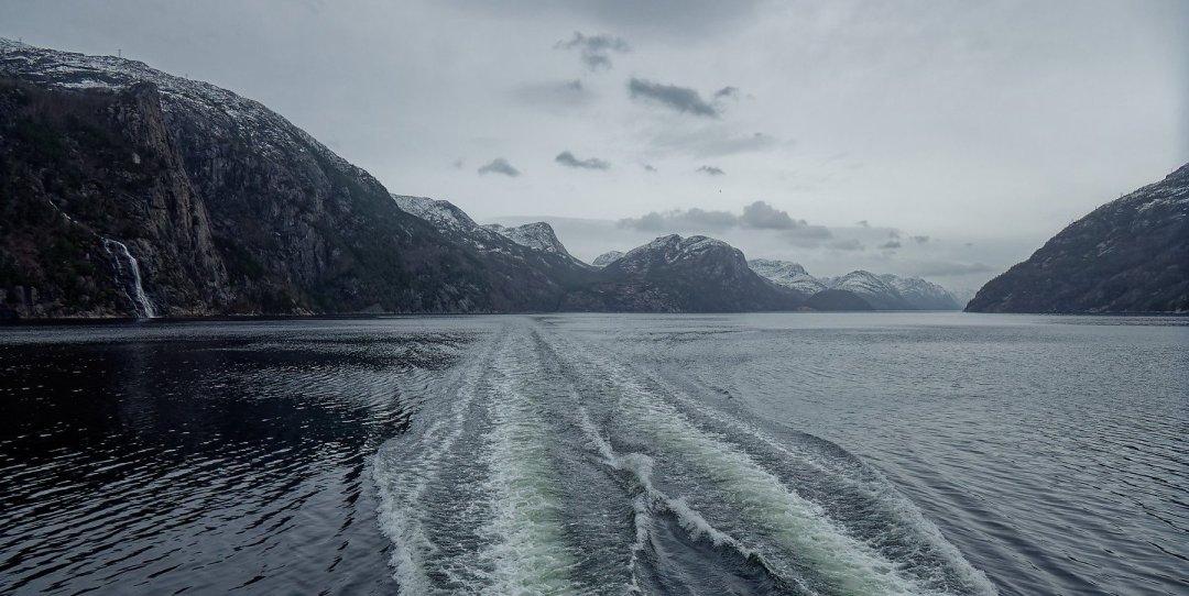 En el Lysefjord
