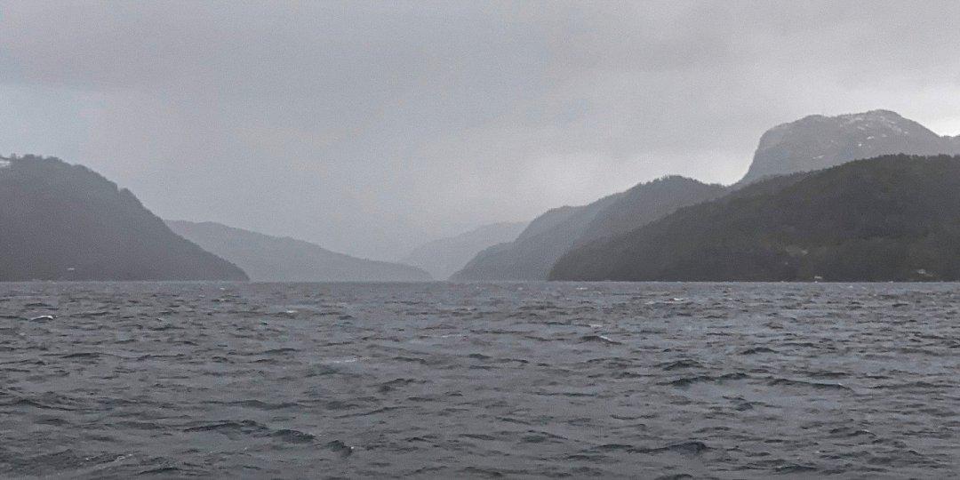 Llegando al Saudafjord