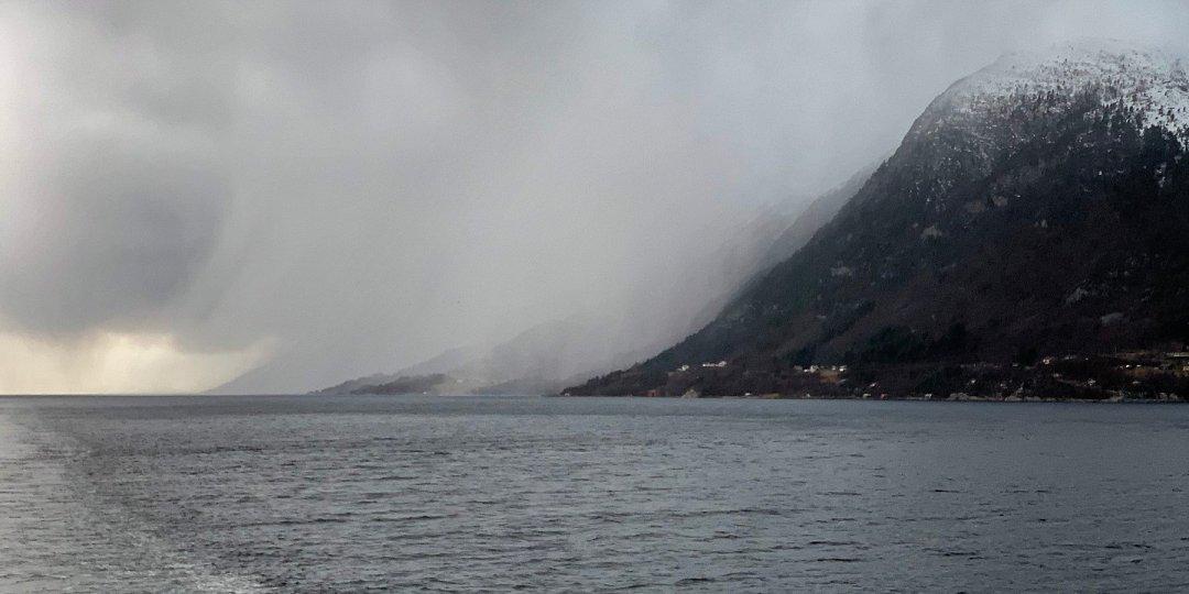 En el Romsdalsfjorden