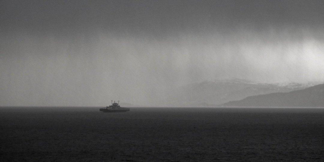 Transbordador en el Moldefjorden