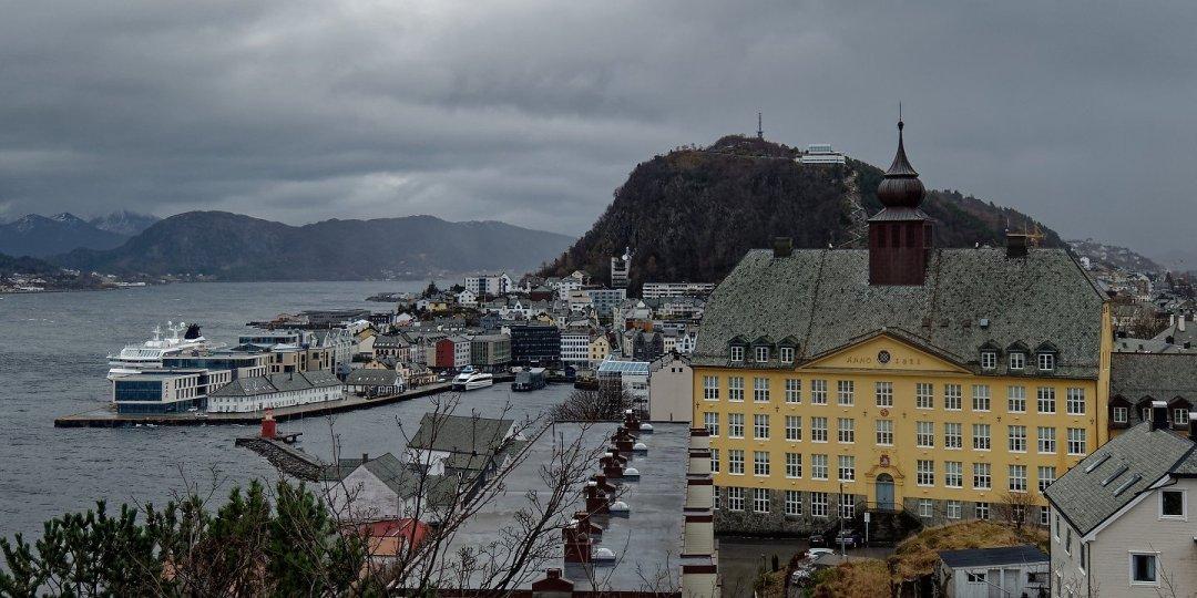 Vista desde Storhaugen