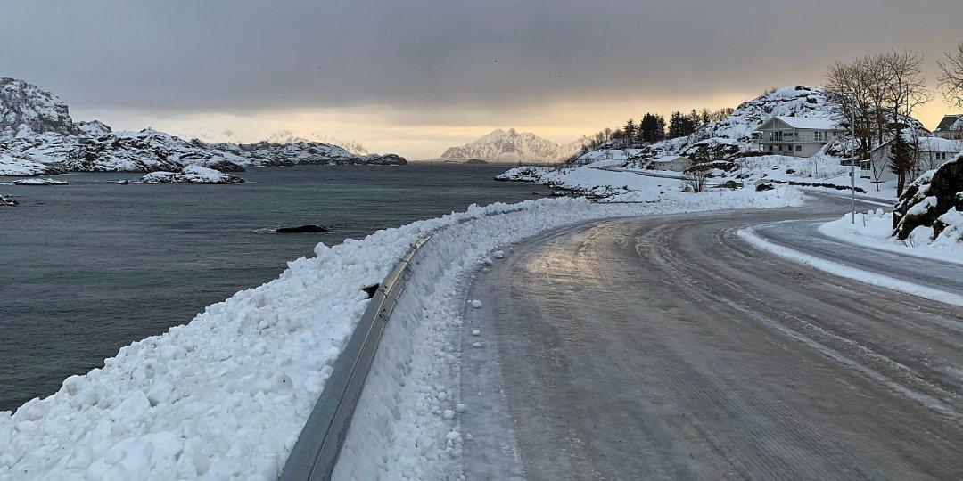Al oeste de Svolvær
