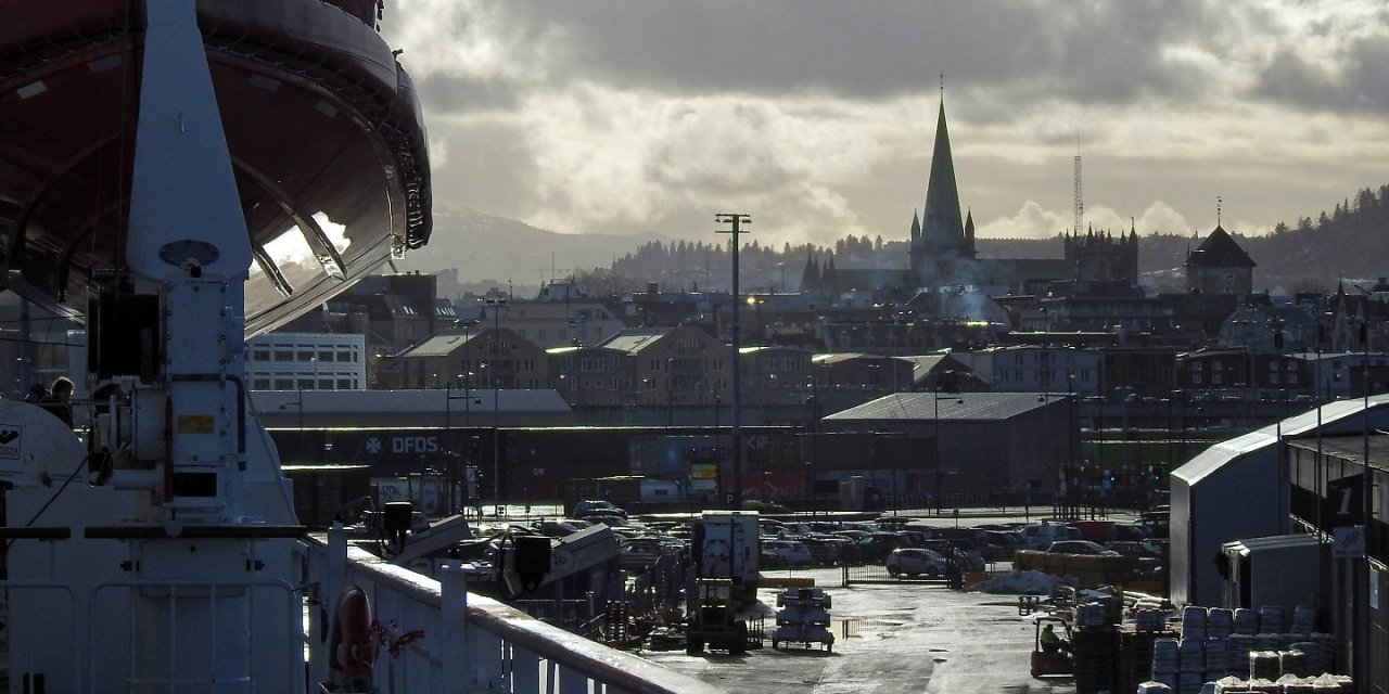 Breve escala en Trondheim