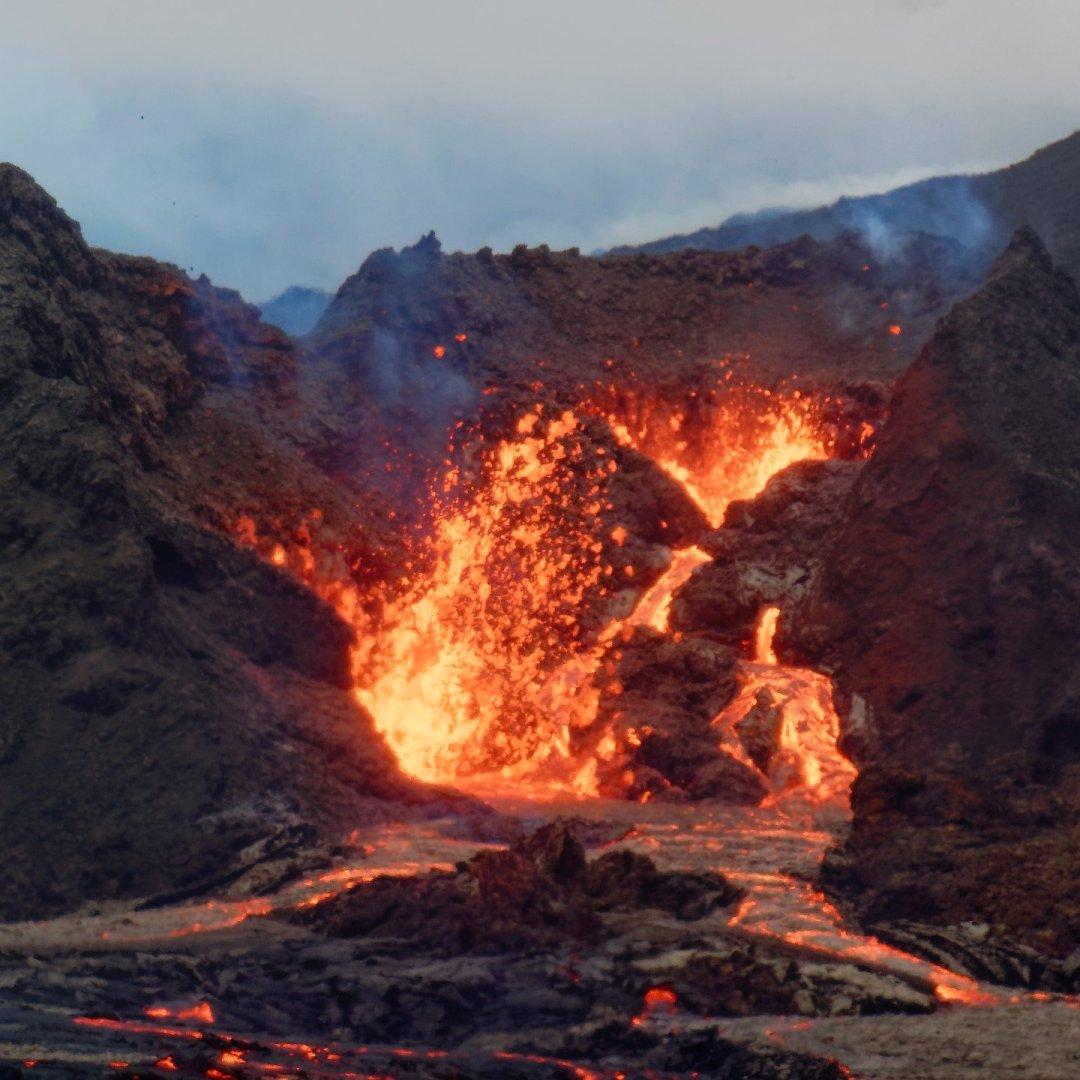 El corazón del volcán