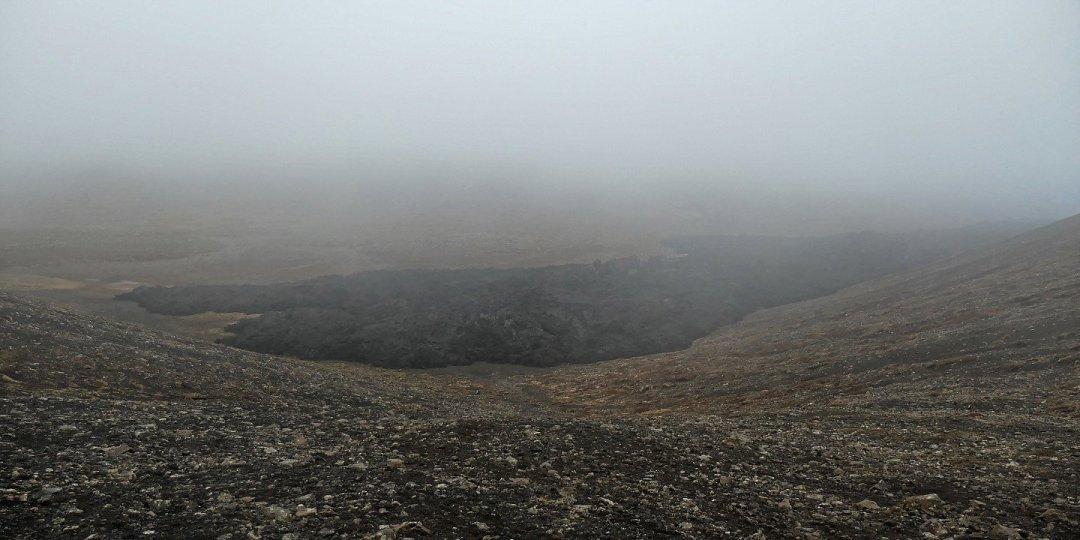 La niebla oculta el valle