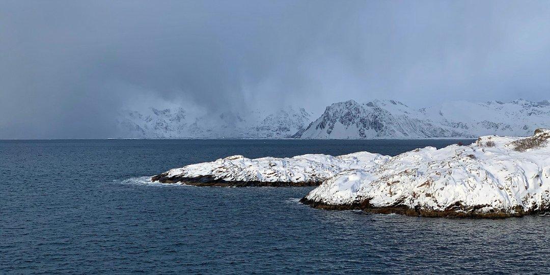 Nubes en Vestvågøy