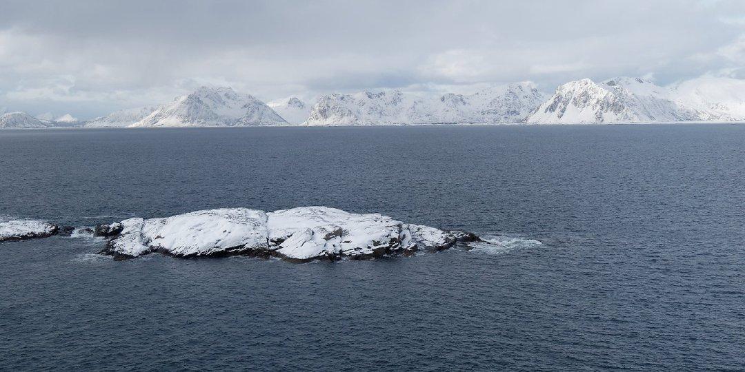 Vestvågøy desde Heimøya
