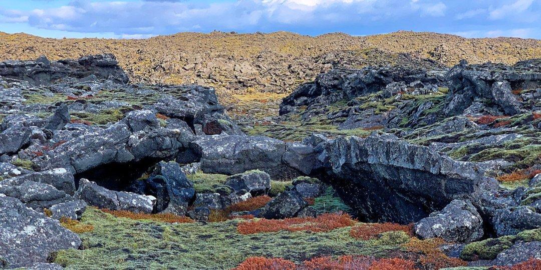 Campo de lava junto a Selatangar