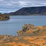 El lago Kleifarvatn