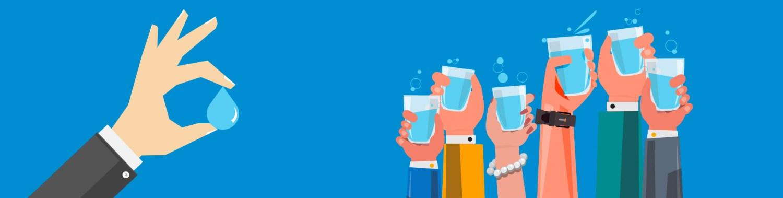 test dell'acqua direttamente dal rubinetto di casa