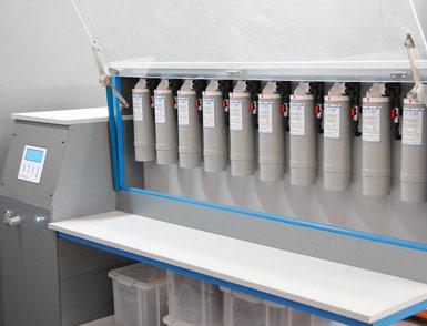 controllo collaudo filtri per depuratori a osmosi inversa
