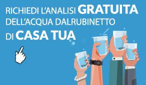test gratis acqua di casa