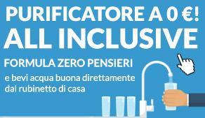 depuratore acqua per casa a zero euro