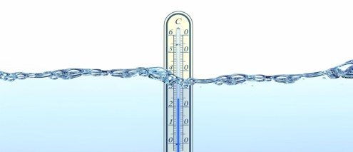 temperatura dell'acqua alla sorgente