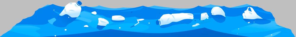 plastica e microplastiche che inquinano i mari