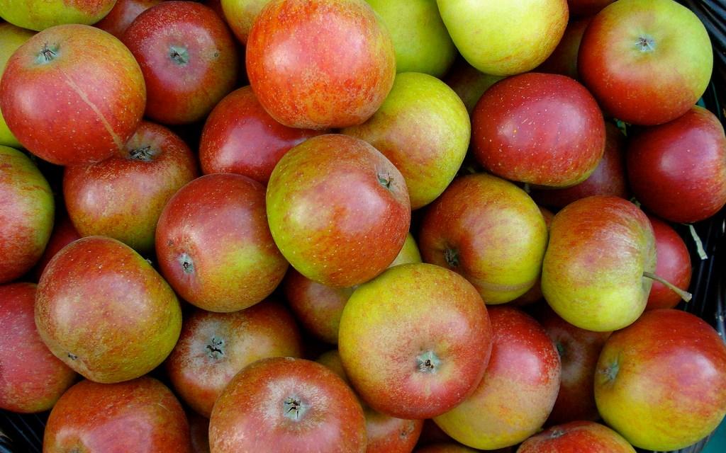 « Mangez des pommes ! »