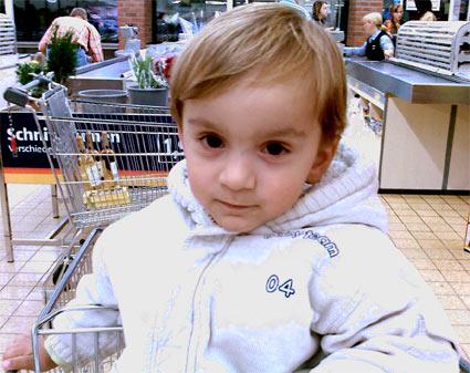Benny beim Einkauf!