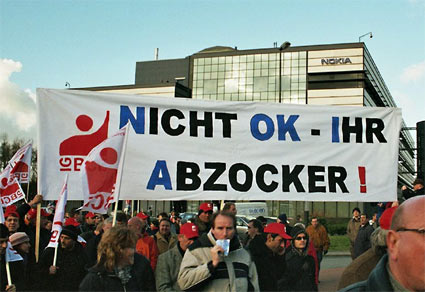 Demo in Bochum