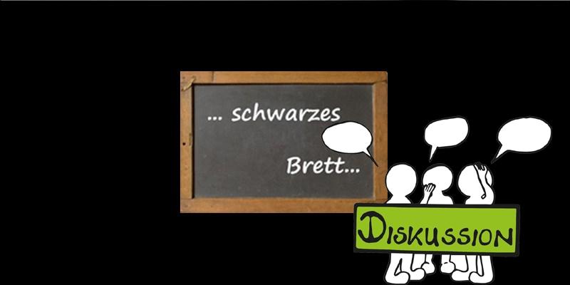 """Diskussion SCHWARZES BRETT auf """"DER RUF"""""""