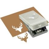 Deer Head - Large Punch - zum Schließen ins Bild klicken