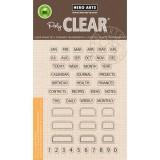 Tabs - Hero Arts Clear Stamps Set - zum Schließen ins Bild klicken
