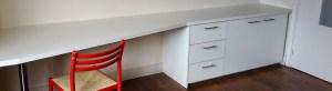 meubelen op maat muurbureau bureau