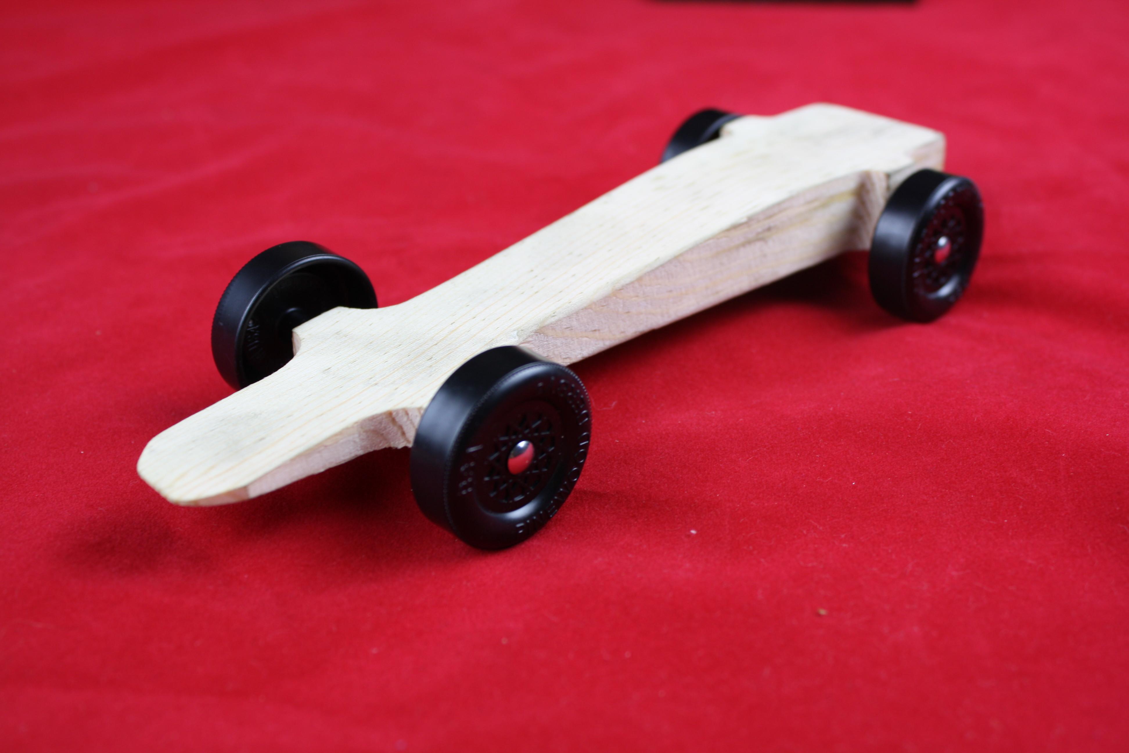 Pinewood Derby Car Kit Awana Fast Speed Ready To Assemble