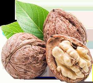 unshelled walnuts